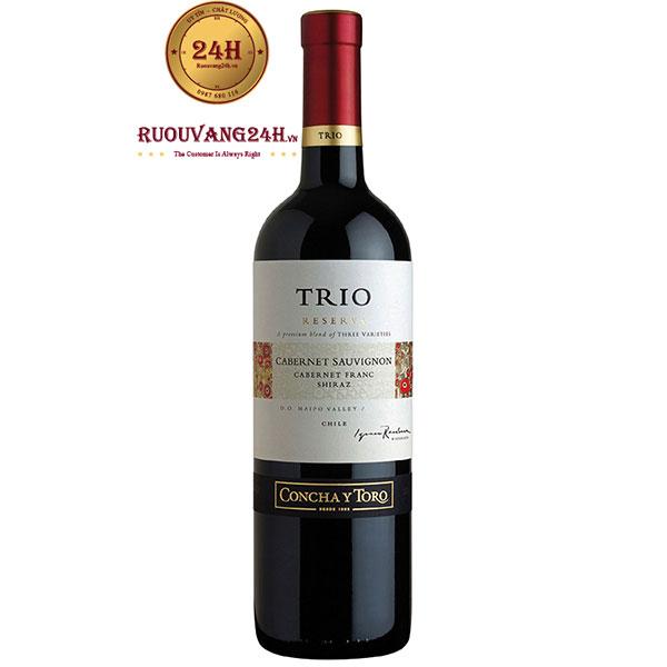 Rượu Vang TRIO Reserva Cabernet Sauvignon