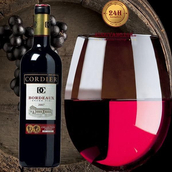 Rượu vang Cordier Collection Privee