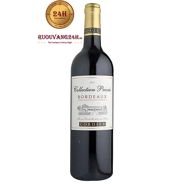 Rượu vang Cordier Collection Privee Bordeaux