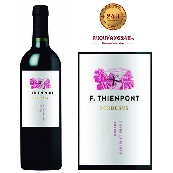 Rượu vang F.Thienpont Bordeaux