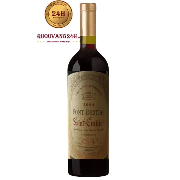 Rượu Vang Font Destiac Saint Emilion