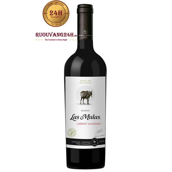 Rượu vang Las Mulas Organic Cabernet Sauvignon