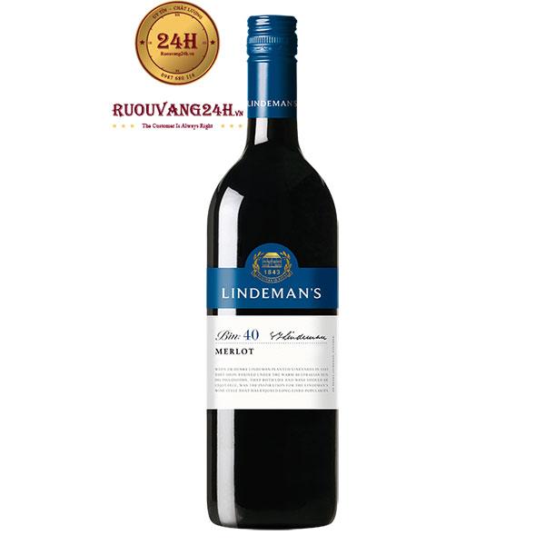 Rượu vang Lindeman's Bin 40 Merlot