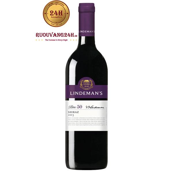 Rượu vang Lindeman's Bin 50 Shiraz