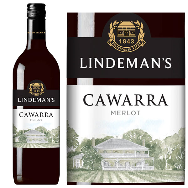 Rượu vang Lindeman's Cawarra Merlot