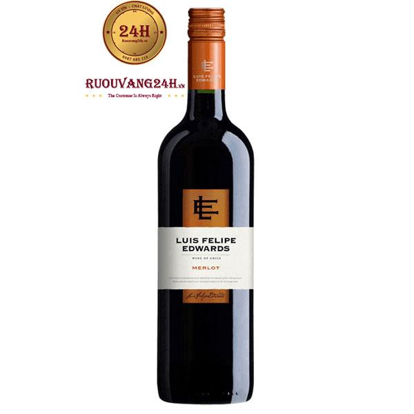 Rượu vang Luis Felipe Edwards Merlot