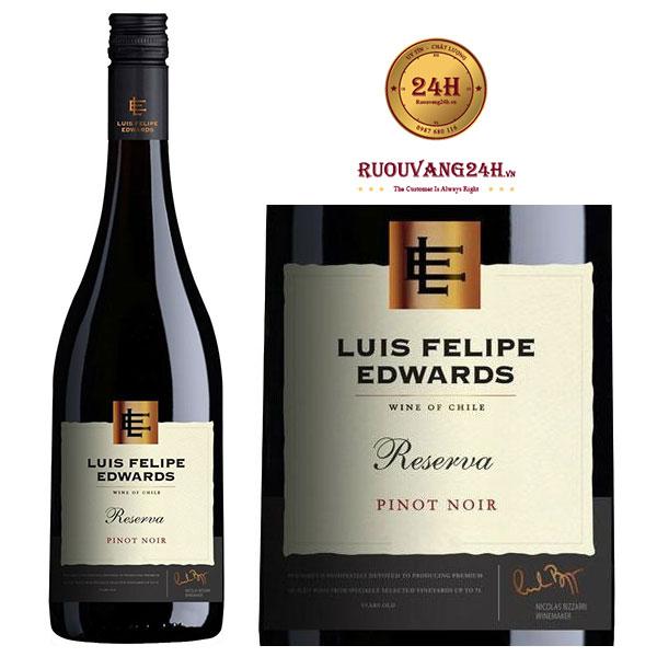 Rượu vang Luis Felipe Edwards Reserva Pinot Noir