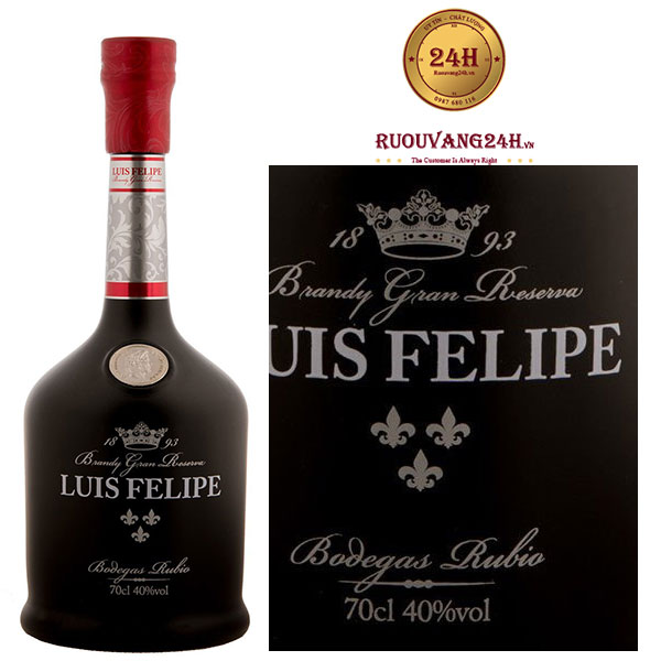 Rượu vang Luis Felipe Brandy Gran Reserva