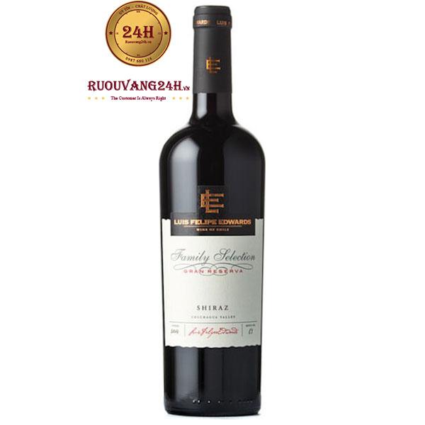 Rượu vang Luis Felipe Gran Reserva Shiraz
