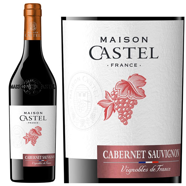 Rượu vang Maison Castel Cabernet Sauvignon IGP d'Oc