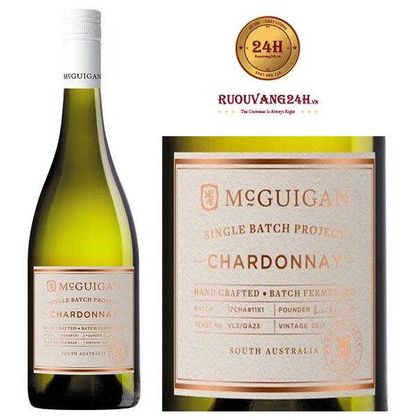 Rượu vang McGuigan Single Batch Chardonnay