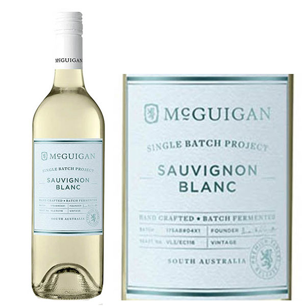 Rượu vang McGuigan Single Batch Sauvignon Blanc
