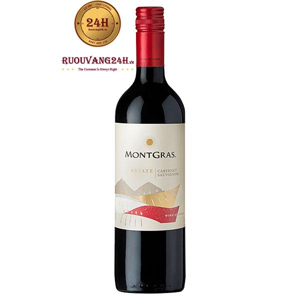 Rượu vang MontGras Estate Cabernet Sauvignon