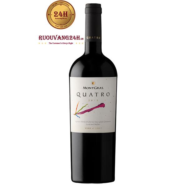 Rượu Vang Quatro Montgras
