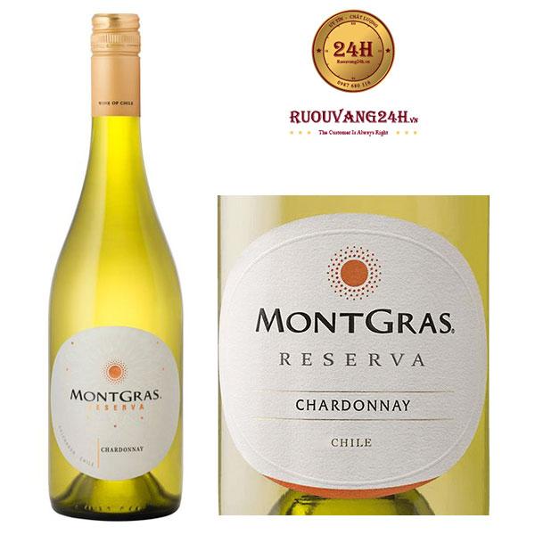 Rượu vang Montgras Reserva Chardonnay