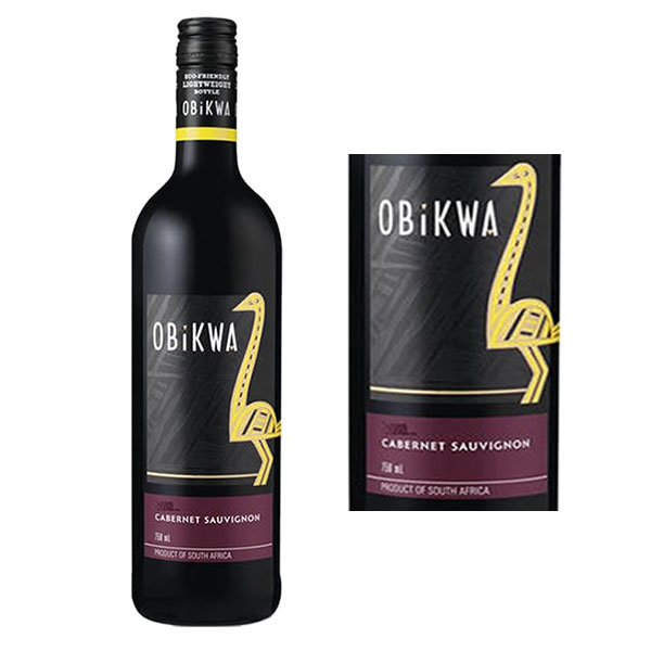 Rượu vang Obikwa Cabernet Sauvignon Western Cape