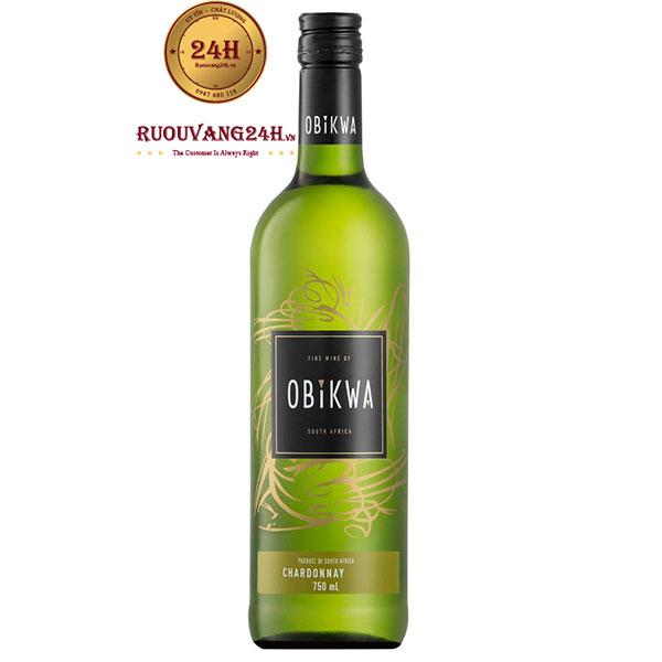 Rượu Vang Obikwa Chardonnay Western Cape