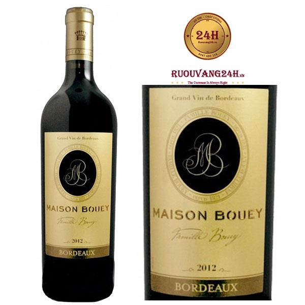 Rượu vang Passion de Maison Bouey