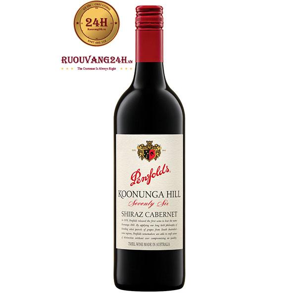 Rượu Vang Penfolds Koonunga Hill 76 Shiraz Cabernet