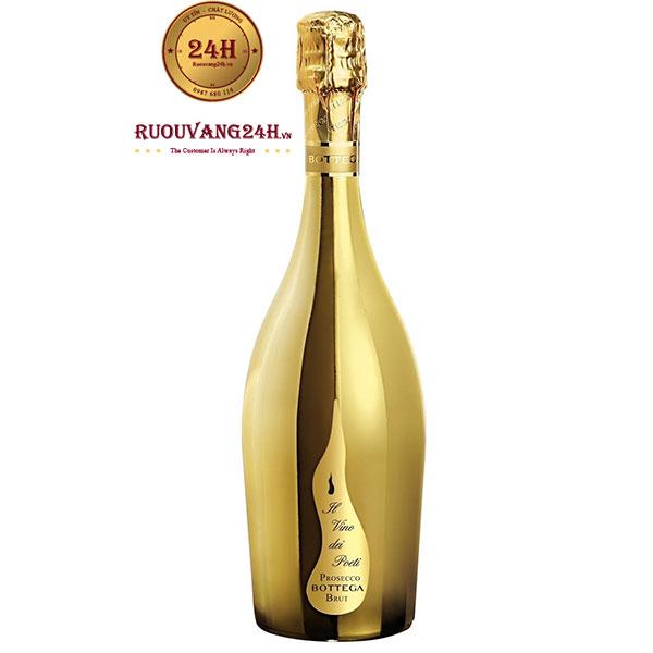 Rượu Vang Prosecco Bottega Gold Brut