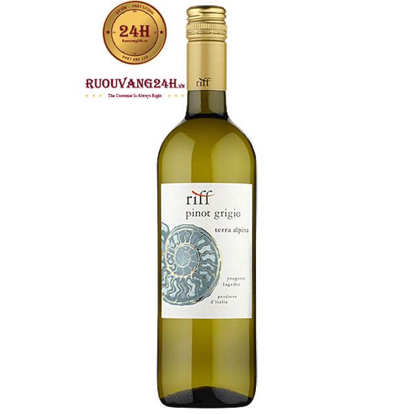 Rượu vang Riff Pinot Grigio Terra Alpina IGT Alto Adige