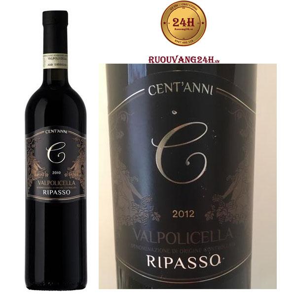 Rượu vang Ripasso Valpolicella Cent'Anni - DOC