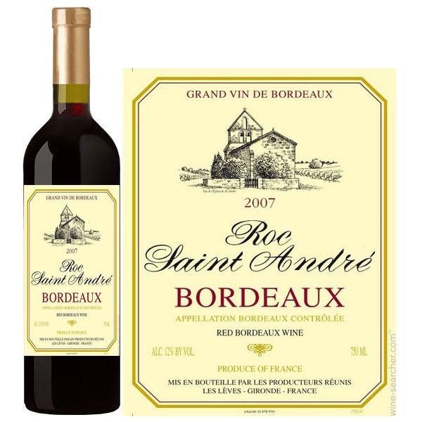 Rượu Vang Roc Saint Andre Bordeaux Red