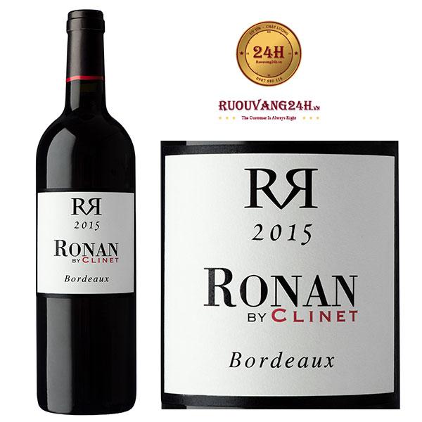 Rượu vang Ronan By Clinet
