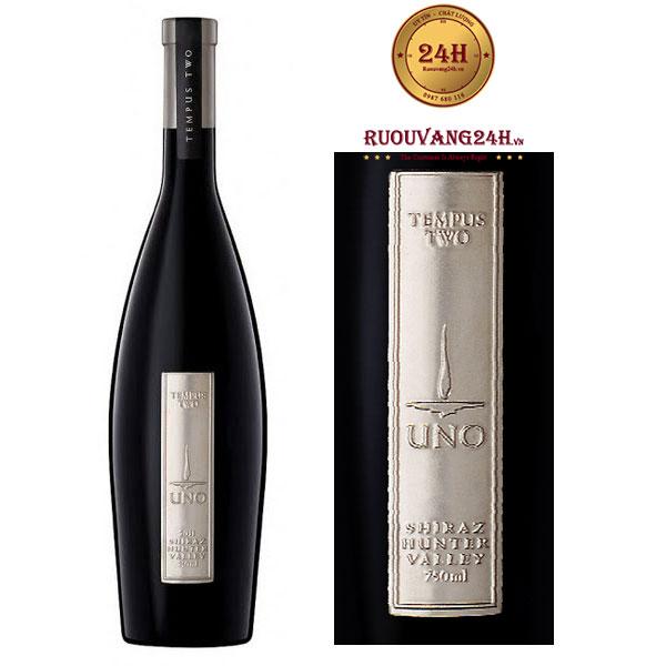Rượu vang Tempus Two Pewter Uno Shiraz