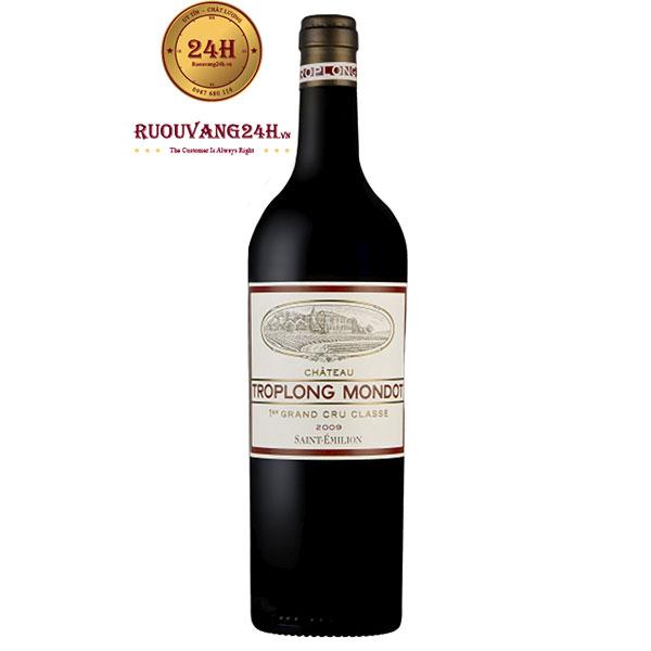 Rượu vang Troplong Mondot 1er Grand Cru Classe