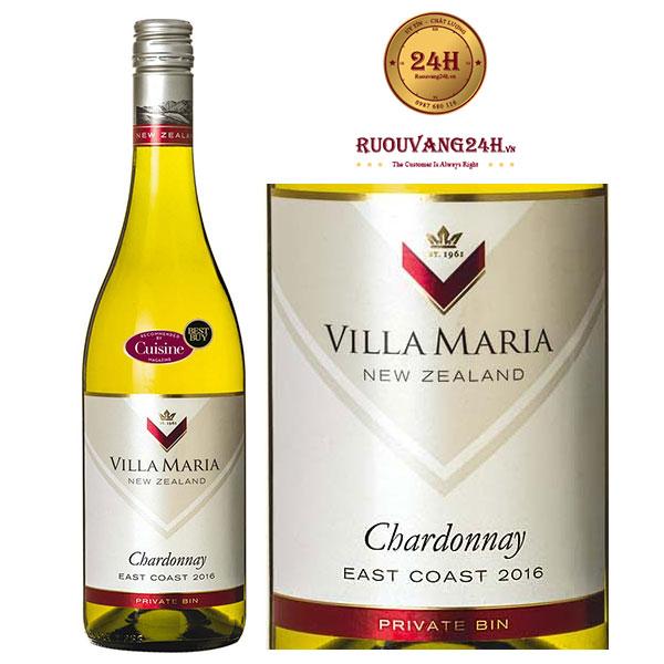 Rượu vang Villa Maria Private Bin Chardonnay East Coast