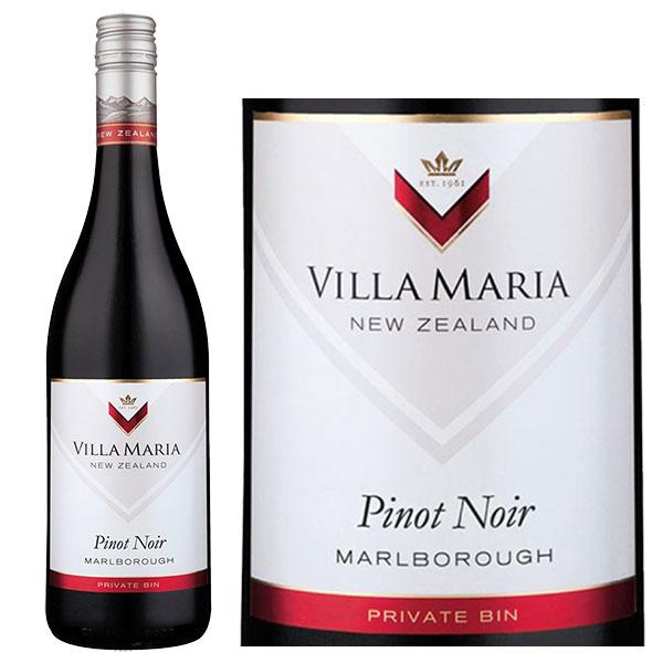 Rượu vang Villa Maria Private Bin Pinot Noir Marlborough
