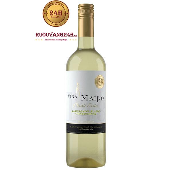 Rượu vang Vina Maipo Chardonnay Sauvignon