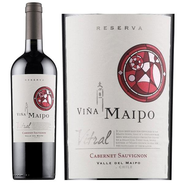 Rượu vang Vina Maipo Vitral Reserva Cabernet Sauvignon