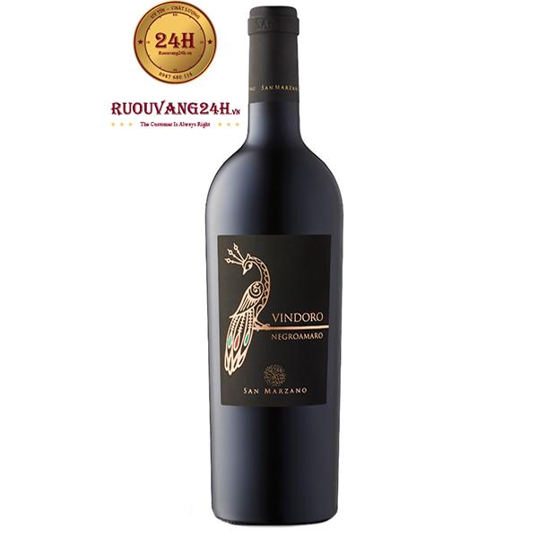 Rượu Vang Vindoro Negroamaro | Rượu Vang Con Công