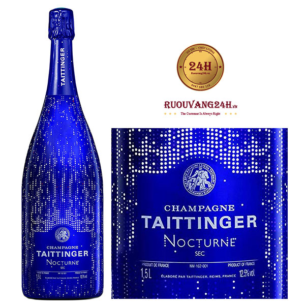 Rượu Champagne Taittinger Nocturne