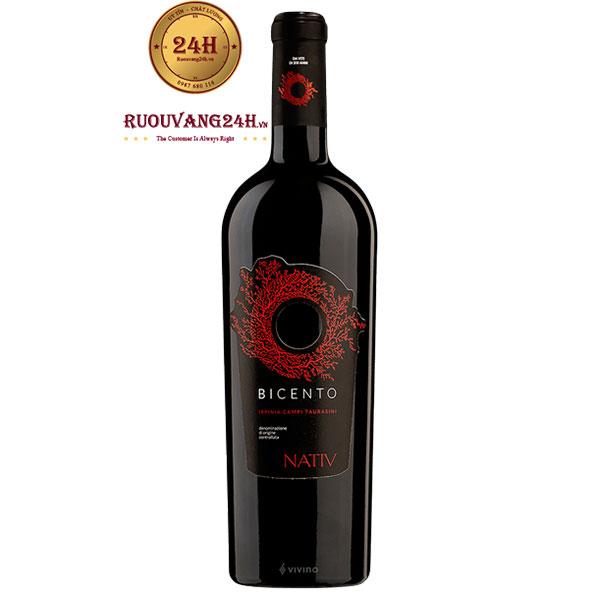 Rượu Vang Bicento Irpinia Campi Taurasini