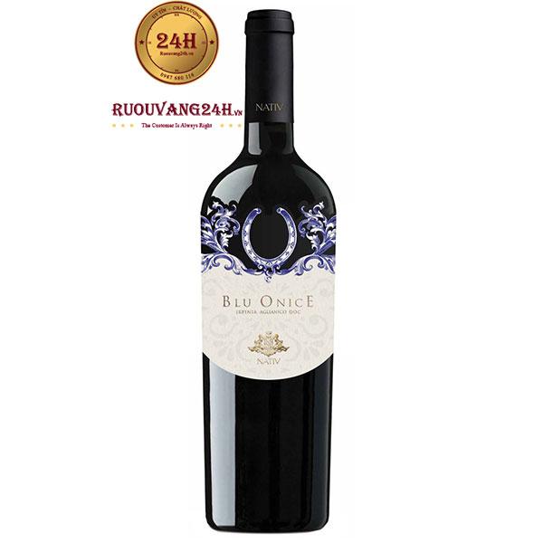 Rượu vang Blu Onice Arpinia Aglianico Doc