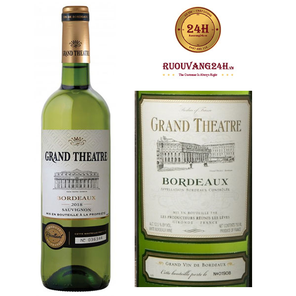 Rượu vang Grand Theatre White