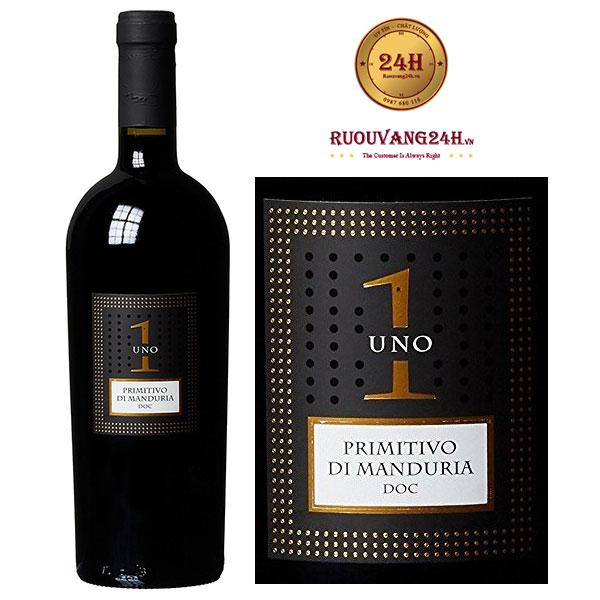 Rượu vang Uno Primitivo Di Manduria