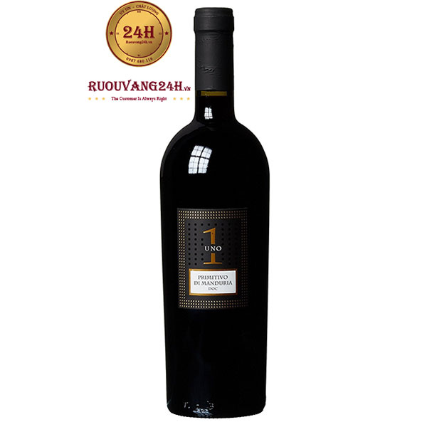 Rượu Vang Uno 1 Primitivo Di Manduria – VANG SỐ 1