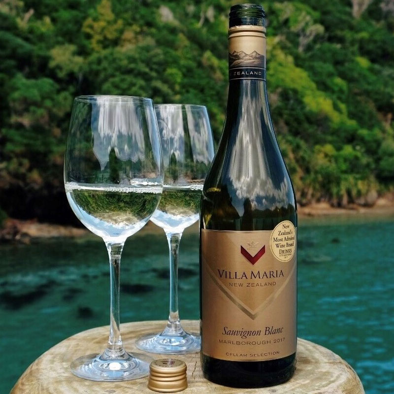 Rượu Vang Villa Maria Sauvignon Blanc Marlborough Cellar Selection