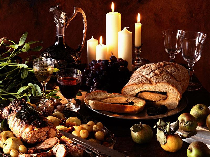 Món Ăn Với Rượu vang đỏ