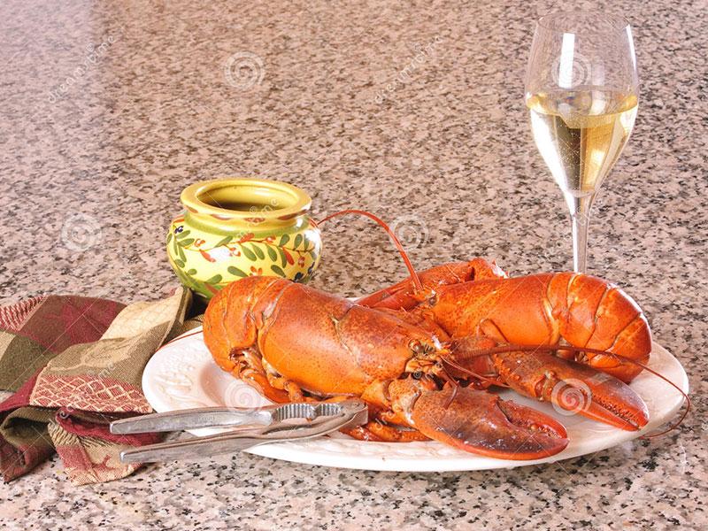 Món Ăn Với Rượu vang trắng