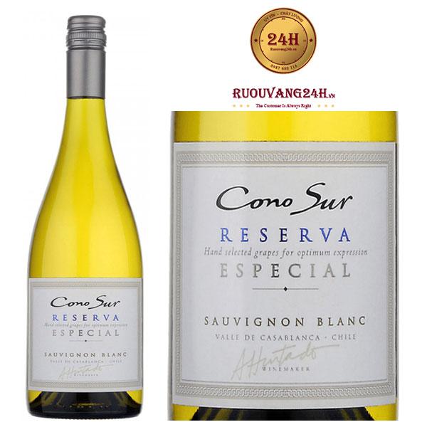 Rượu Vang Cono Sur Reserva Especial Sauvignon Blanco