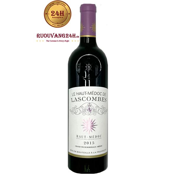 Rượu Vang Le Haut Medoc Lascombes