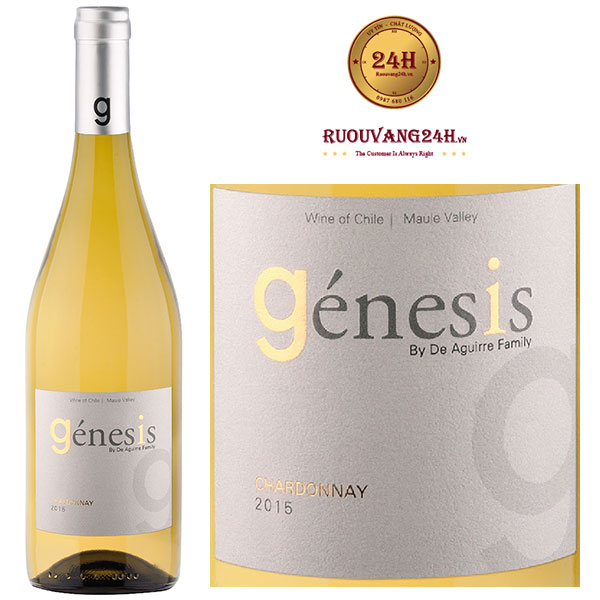Rượu vang Chile Genesis Chardonnay