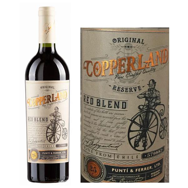 Rượu vang Copperland Reserva Red Blend