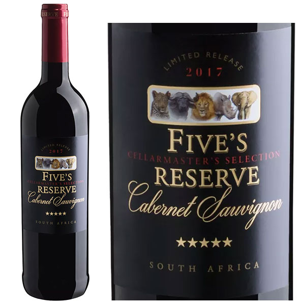Rượu vang Fives Reserve Cabernet Sauvignon