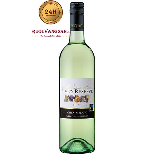 Rượu Vang Fives Reserve Chenin Blanc